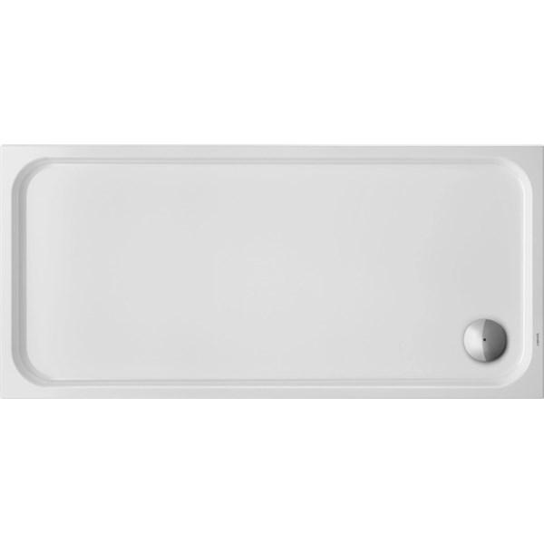 Douchebak D-Code 1600x750mm wit, rechthoekig Duravit
