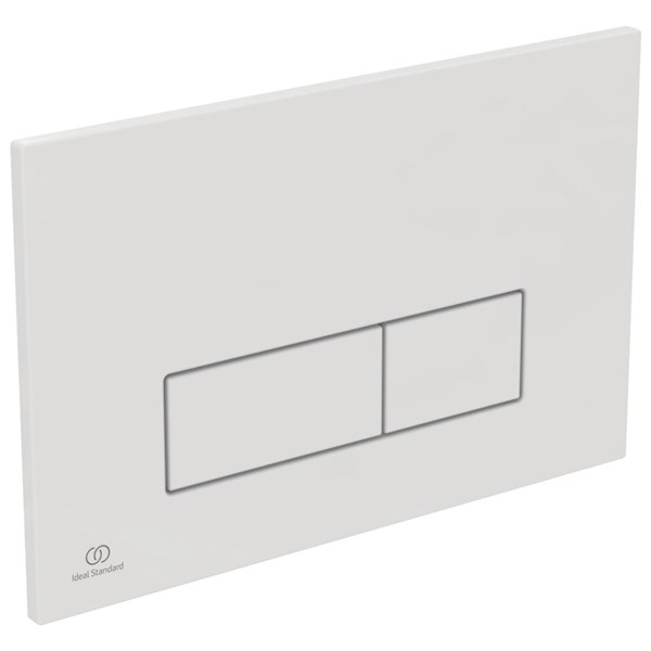 Oleas m2 f/plate dual white - is Ideal Standard