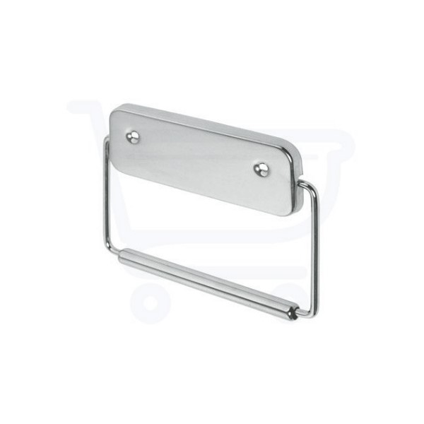 Standard type 2 closetrolhouder (dubbele kant) chroom Haceka