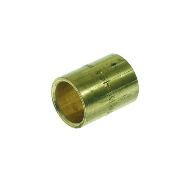 Soldeer sok 12x12mm messing 2x capillair VSH