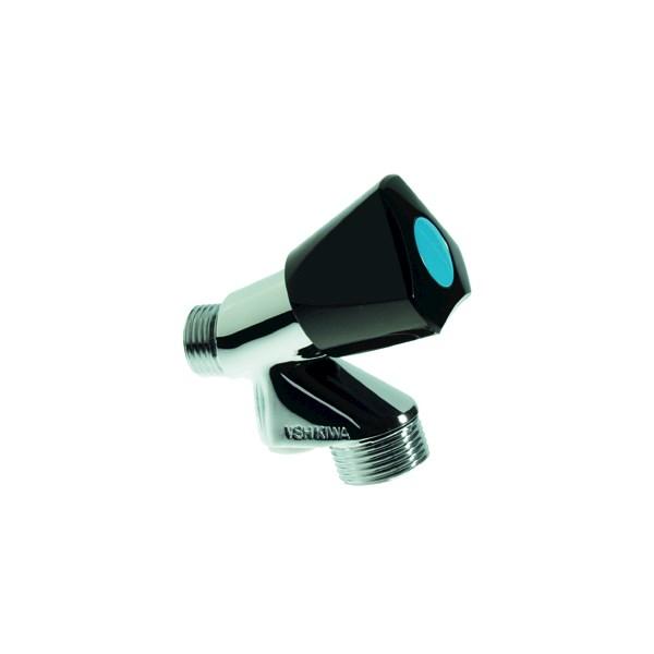 Wasmachinekraan 1/2 belucht B3550 m. zwarte moyenknop VSH