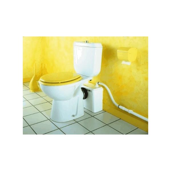 Fecalien vermaler X2 Silence tbv toilet Sanibroyeur