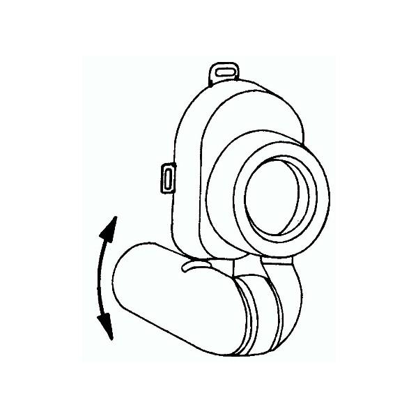 Urinoirsifon universeel HL430 Dallmer