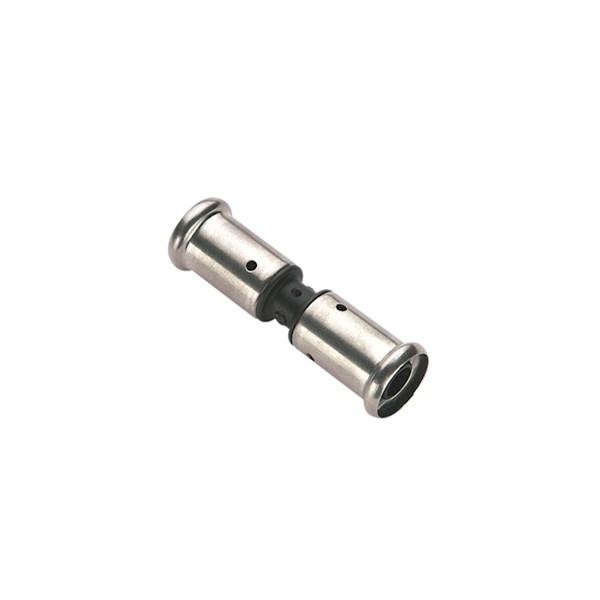 Koppeling recht pers Type: 15PK 16mm kunststof Henco