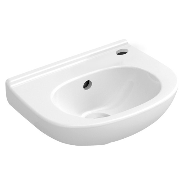 O.novo Compact fontein 360x275x150mm wit m.kraang.RE m.overl Villeroy & Boch