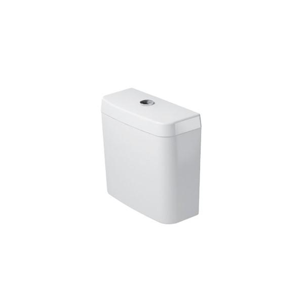 Dual-Flush closetreserv. wit 6ltr. aansl. LI/RE zijkant Trendline
