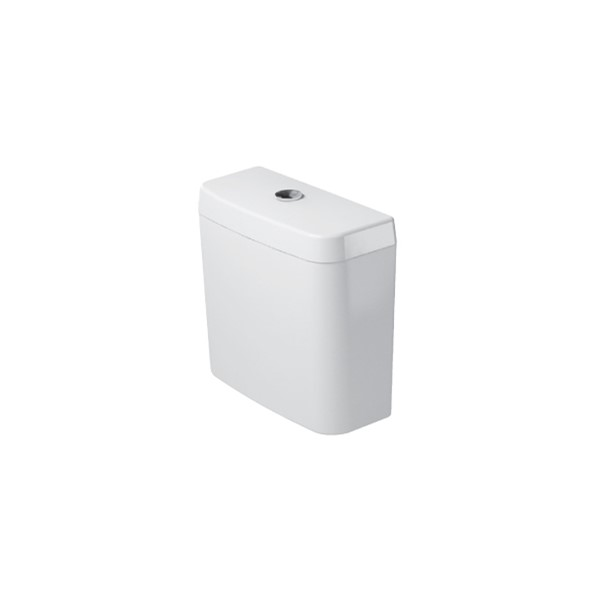 Dual-Flush closetreserv. wit 6ltr. aansluiting LI onder Trendline