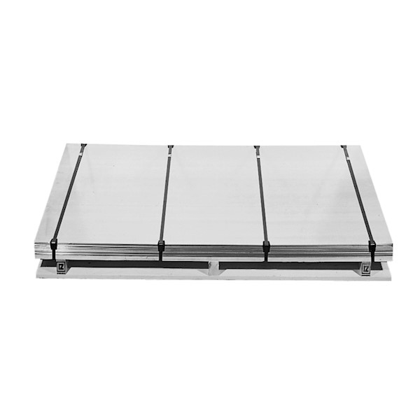 Plaat bladzink 16 2000x1000x1.1mm ca. 15.6kg Rheinzink