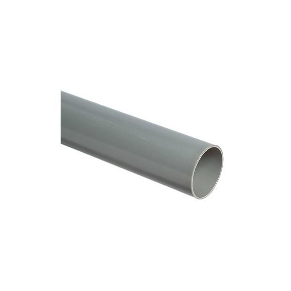 Lengte a 4 m. PVC U3 buis 32x3mm grijs Wavin